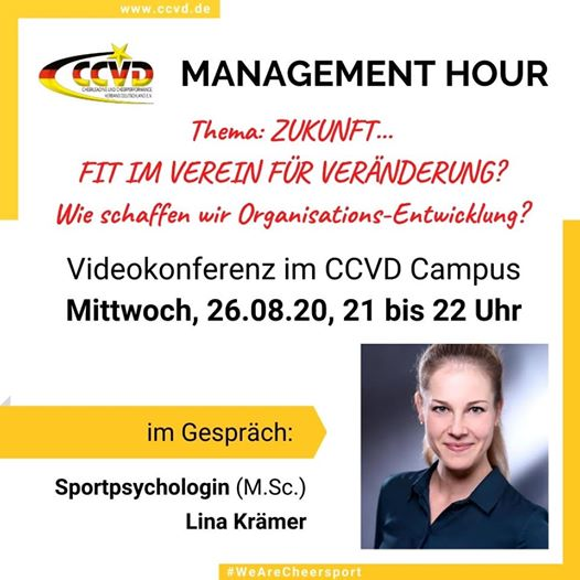 CCVD Management Hour – Organisationsentwicklung