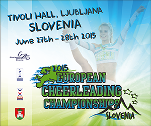 ECU European Cheerleading Championships 2015