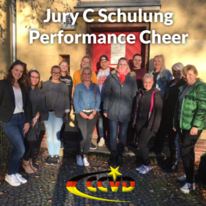 Jury C Ausbildung Performance Cheer