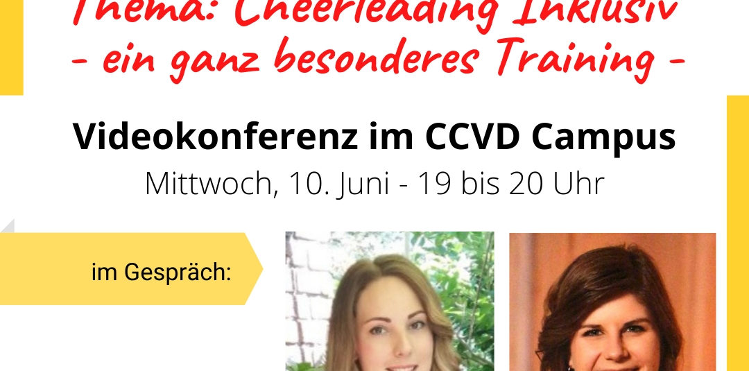 Coaches Hour zum Thema Cheerleading Inklusiv
