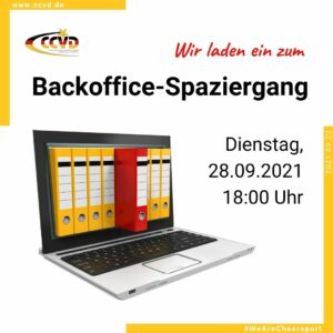 CCVD-Backoffice Spaziergang