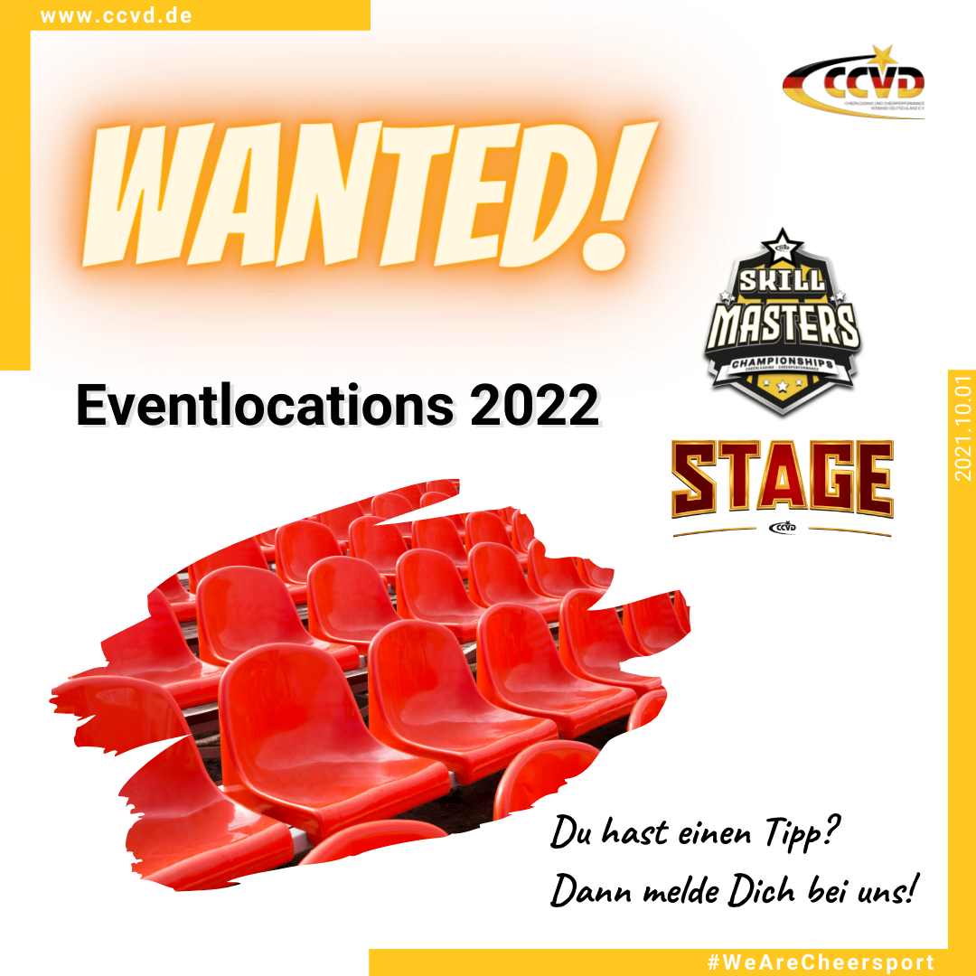 Eventlocations Wanted!