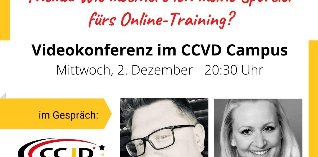 Coaches Hour zum Thema Motivation für das Online Training