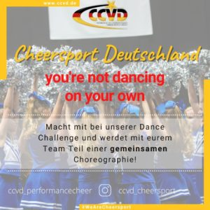 (Performance) Cheer Deutschland – you're not dancing on your own!
