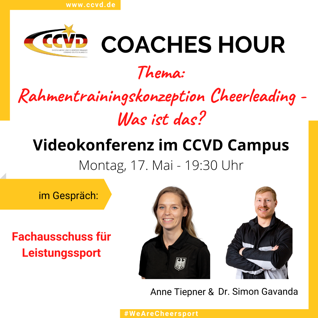 Coaches Hour – Vorstellung Rahmentrainingskonzeption