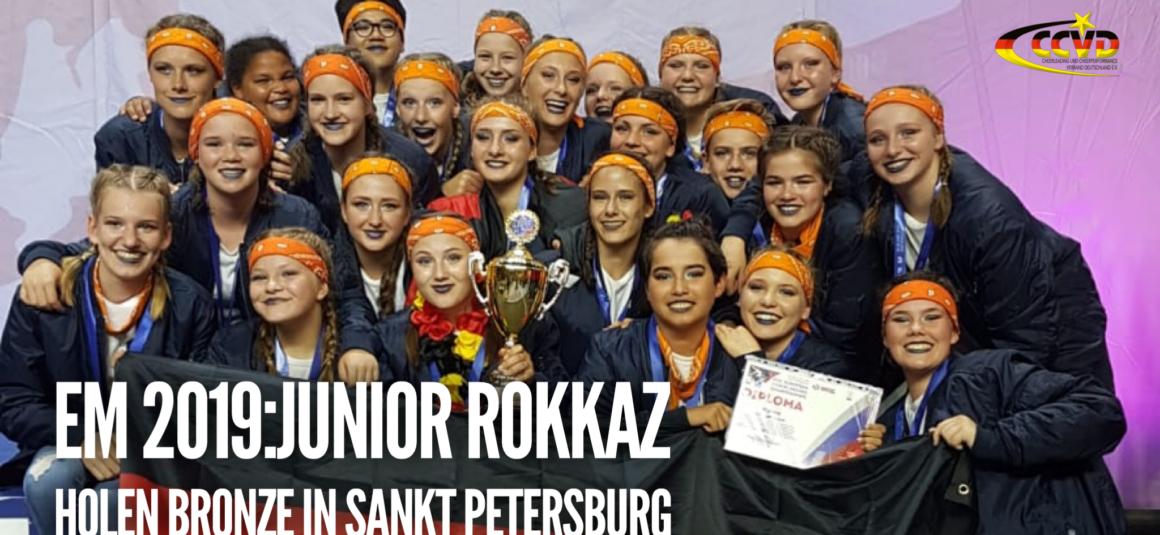 EM 2019 – Junior Rokkaz holen Bronze in St. Petersburg