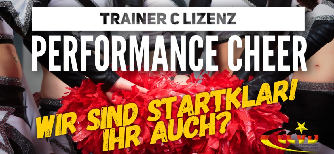 Trainer C Lizenz Performance Cheer