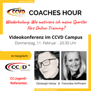 Wiederholung: Coaches Hour zum Thema Motivation für das Online Training